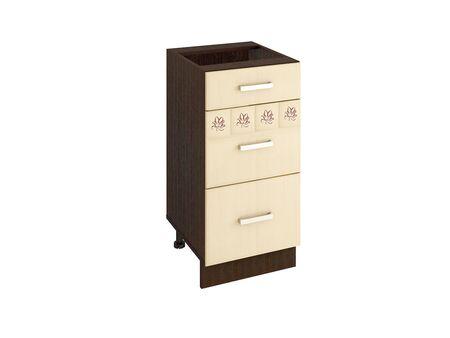 Стол кухонный (3 ящика с метабоксами) Аврора 10.59.2