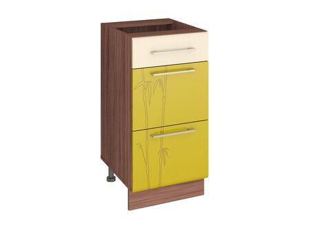 Стол кухонный (3 ящика с метабоксами) Тропикана 17.59