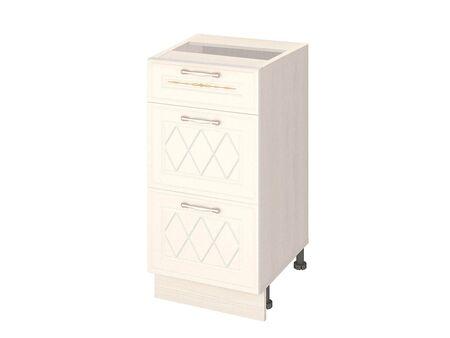 Стол кухонный (3 ящика с системой плавного закрывания) Тиффани 19.90