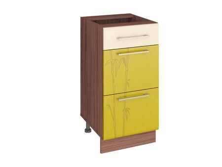 Стол кухонный (3 ящика с системой плавного закрывания) Тропикана 17.90