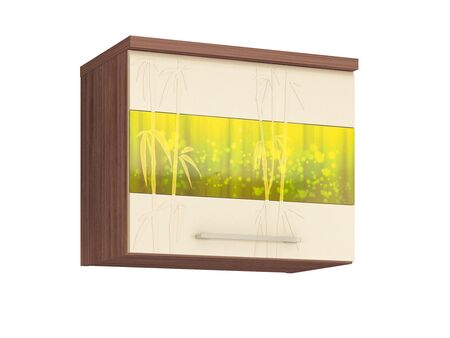Шкаф кухонный над вытяжкой (с системой плавного закрывания) Тропикана 17.82