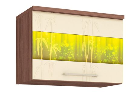 Шкаф кухонный над вытяжкой (с системой плавного закрывания) Тропикана 17.83