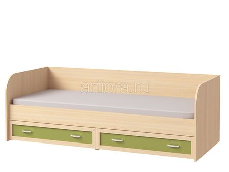 Кровать с ящиками Камилла 1.3 (800х1900)