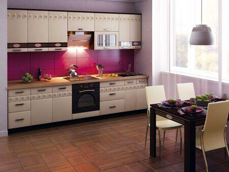 Кухонный гарнитур Аврора 3 (ширина 300 см)