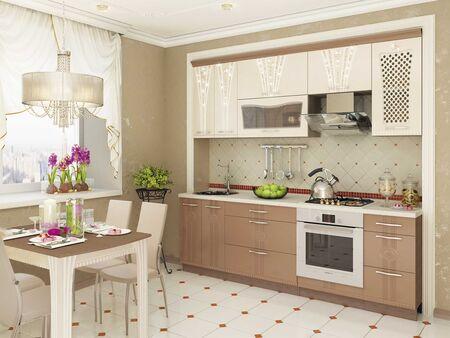 Кухонный гарнитур Афина 2 (ширина 200 см)
