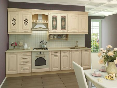 Кухонный гарнитур Глория_3 3 (ширина 300 см)