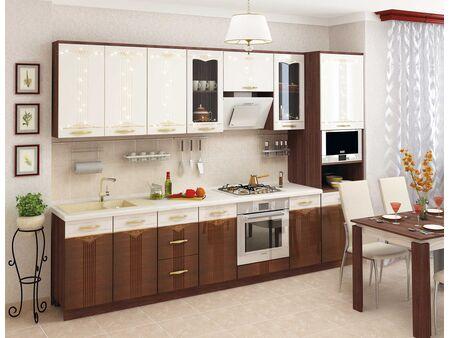 Кухонный гарнитур Каролина 2 (ширина 300 см)