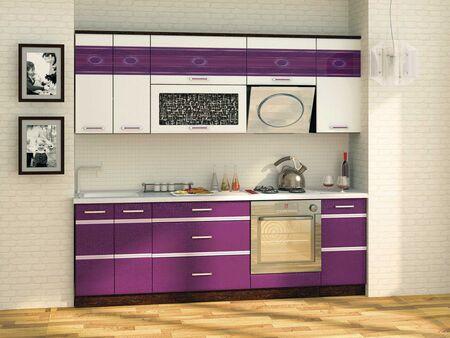 Кухонный гарнитур Палермо 2 (ширина 240 см)