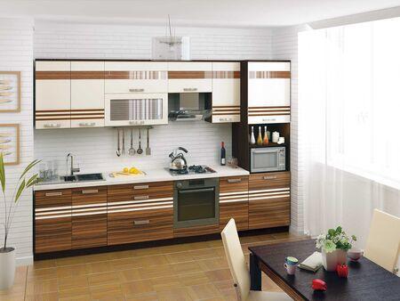 Кухонный гарнитур Рио 3 (ширина 320 см)