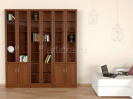 Набор книжных шкафов - Библиотека 1