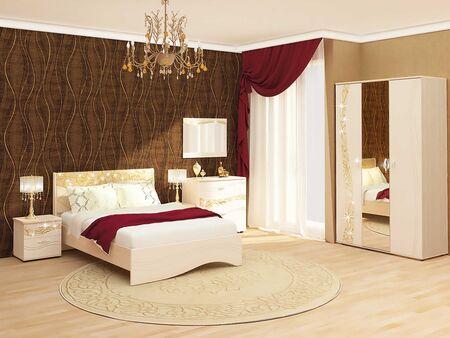 Спальный гарнитур Соната 4