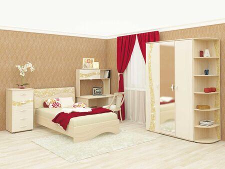 Спальный гарнитур Соната 6