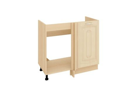 Стол кухонный под мойку угловой (лев/прав) Глория 03.52.1