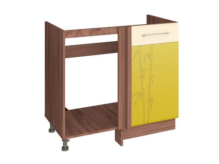 Стол кухонный под мойку угловой (лев/прав) Тропикана 17.52