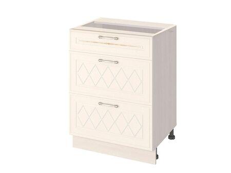 Стол кухонный (3 ящика с метабоксами) Тиффани 19.66