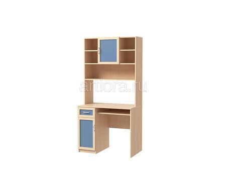 Стол письменный с надстройкой Камилла 1