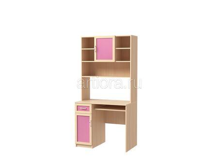 Стол письменный с надстройкой Камилла 2