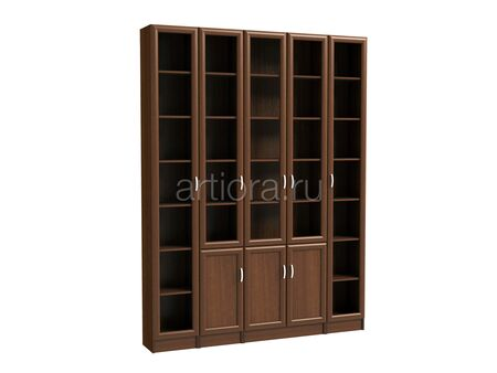Набор книжных шкафов - Библиотека 4
