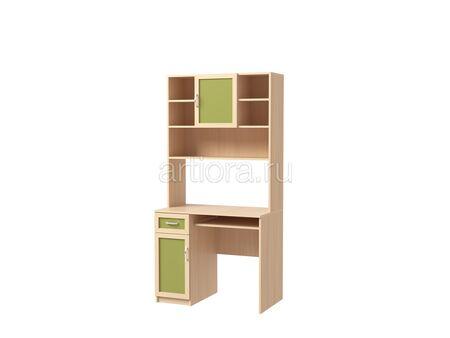 Стол письменный с надстройкой Камилла 3