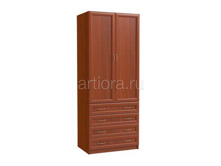 Шкаф двухдверный платяной с ящиками Эльза ЭЛ-10