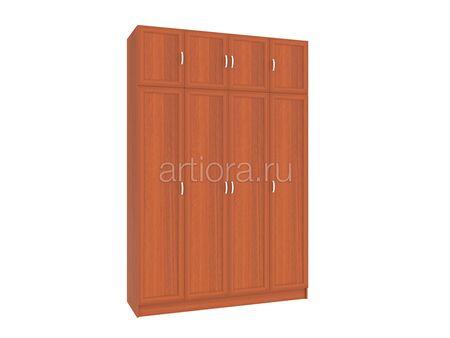 Шкаф распашной четырехстворчатый с антрисолью ШК-5