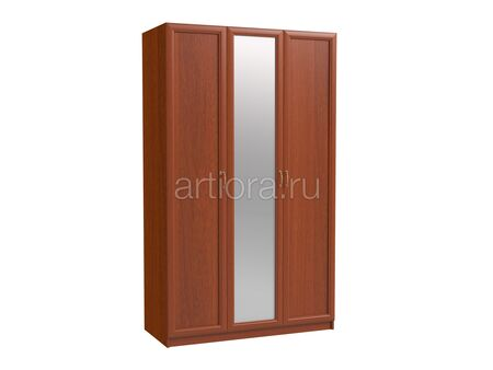 Шкаф трехдверный с зеркалом Эльза ЭЛ-11