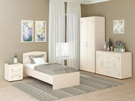 Спальный гарнитур  Версаль 3
