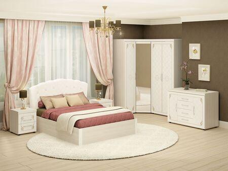 Спальный гарнитур  Версаль 4