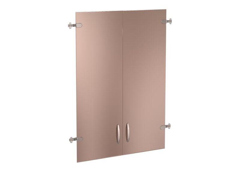 Двери стеклянные 3 секции Альфа 61.38