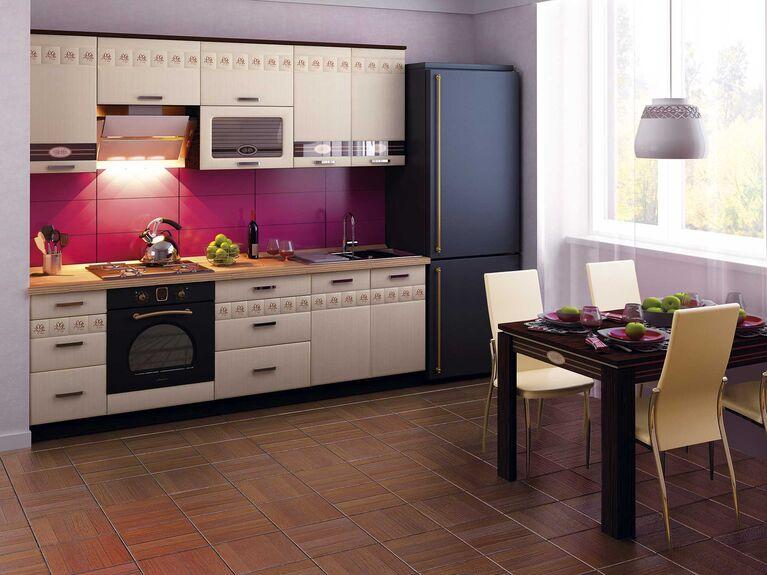 Кухонный гарнитур Аврора 2 (ширина 240 см)