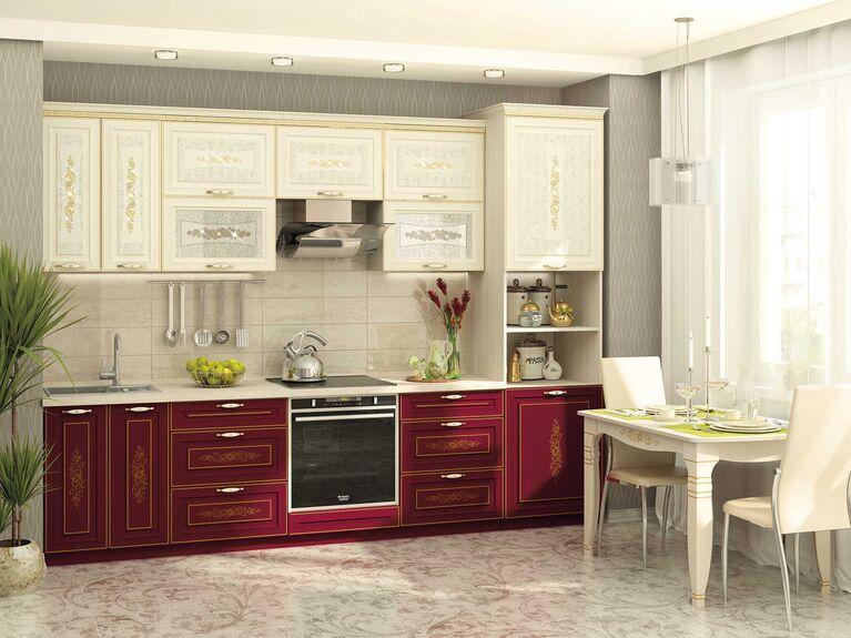 Кухонный гарнитур Виктория 3 (ширина 300 см)