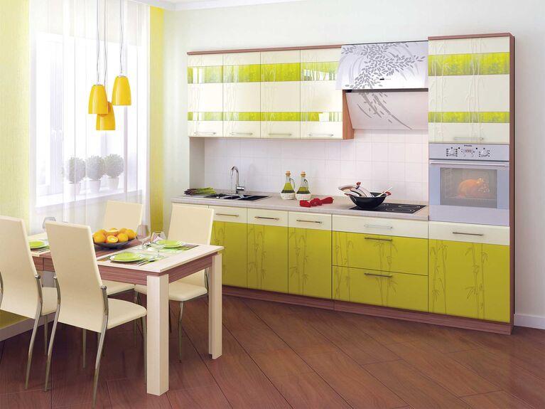 Кухонный гарнитур Тропикана 3 (ширина 300 см)